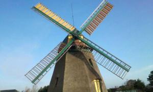 Mühle Nebel Amrum