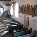 Innenansicht der Kirche von Nebel auf Amrum