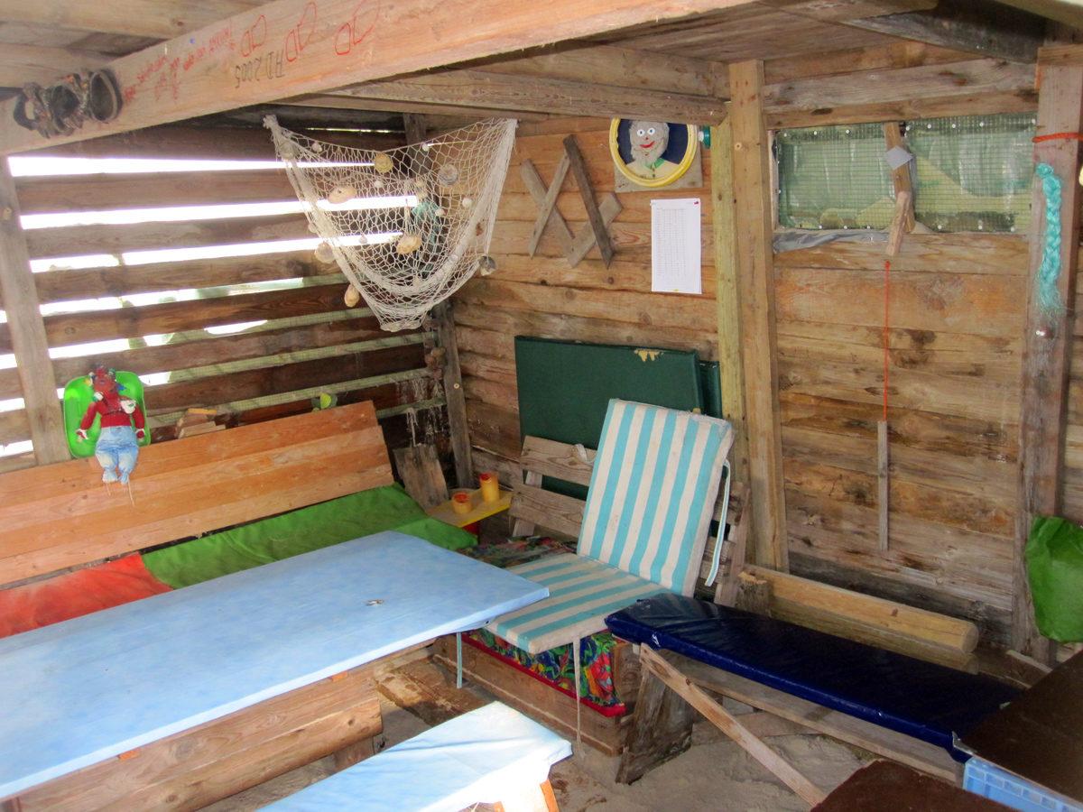 Strandhütte auf Amrum