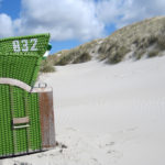 Strandkorb auf dem Kniepsand