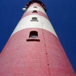 Der Leuchtturm als Nahaufnahme in seiner ganzen Schönheit