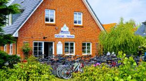 """Fahrradverleih """"Amrumer Radhaus"""" in Wittdün"""