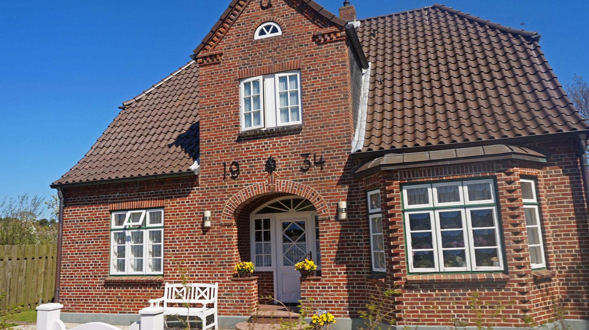 Gut gepflegtes Haus auf Amrum