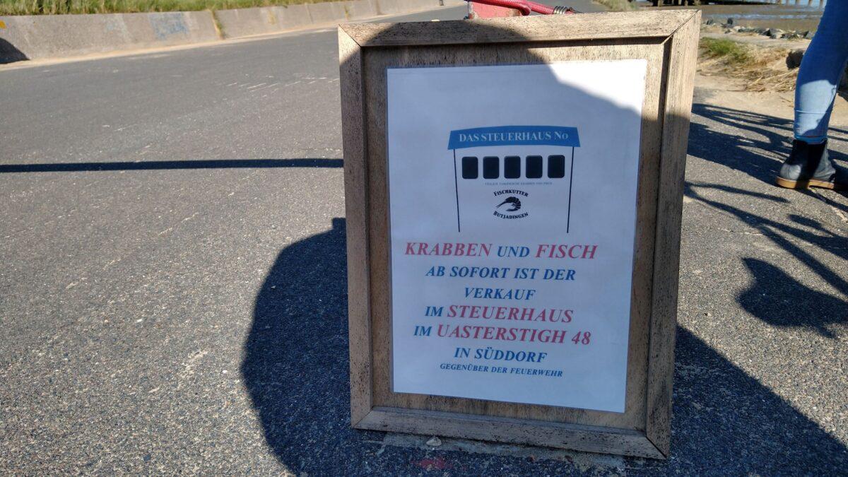 Der Krabbenfischer ist nun in Süddorf zu finden!