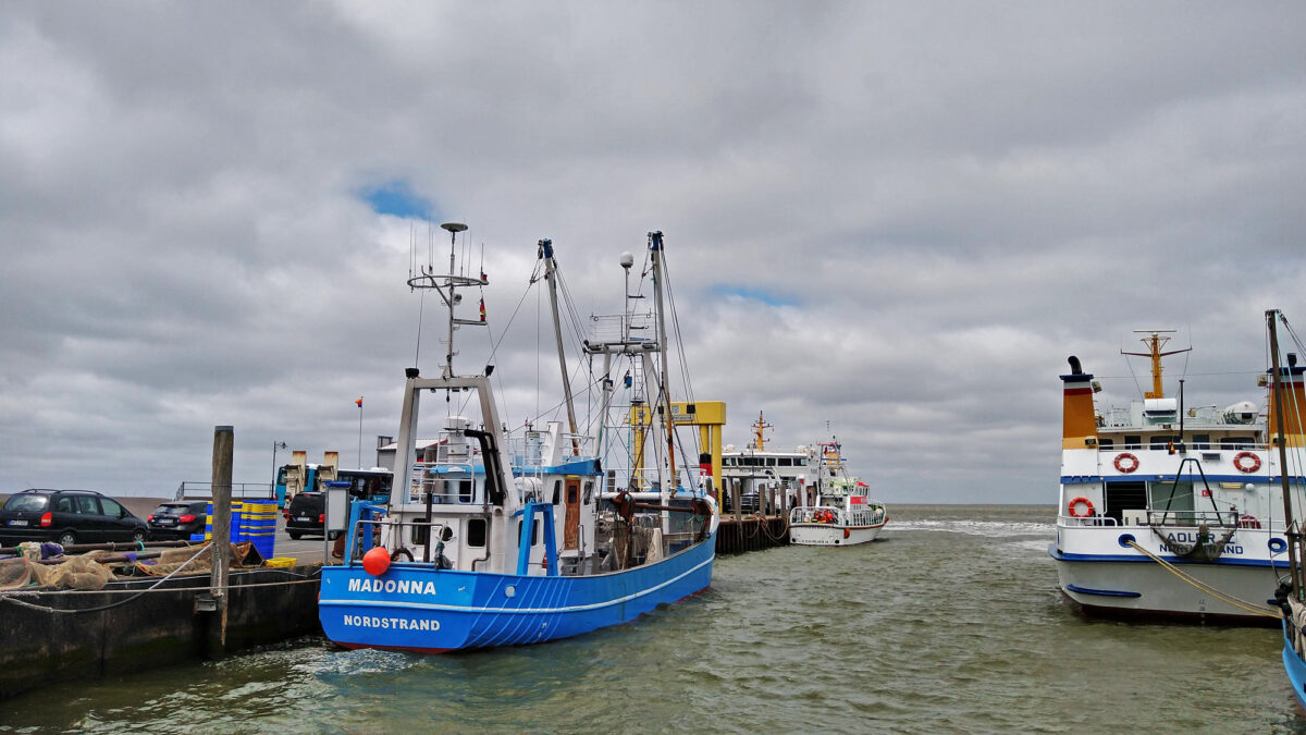 Der kleine Hafen von Nordstrand