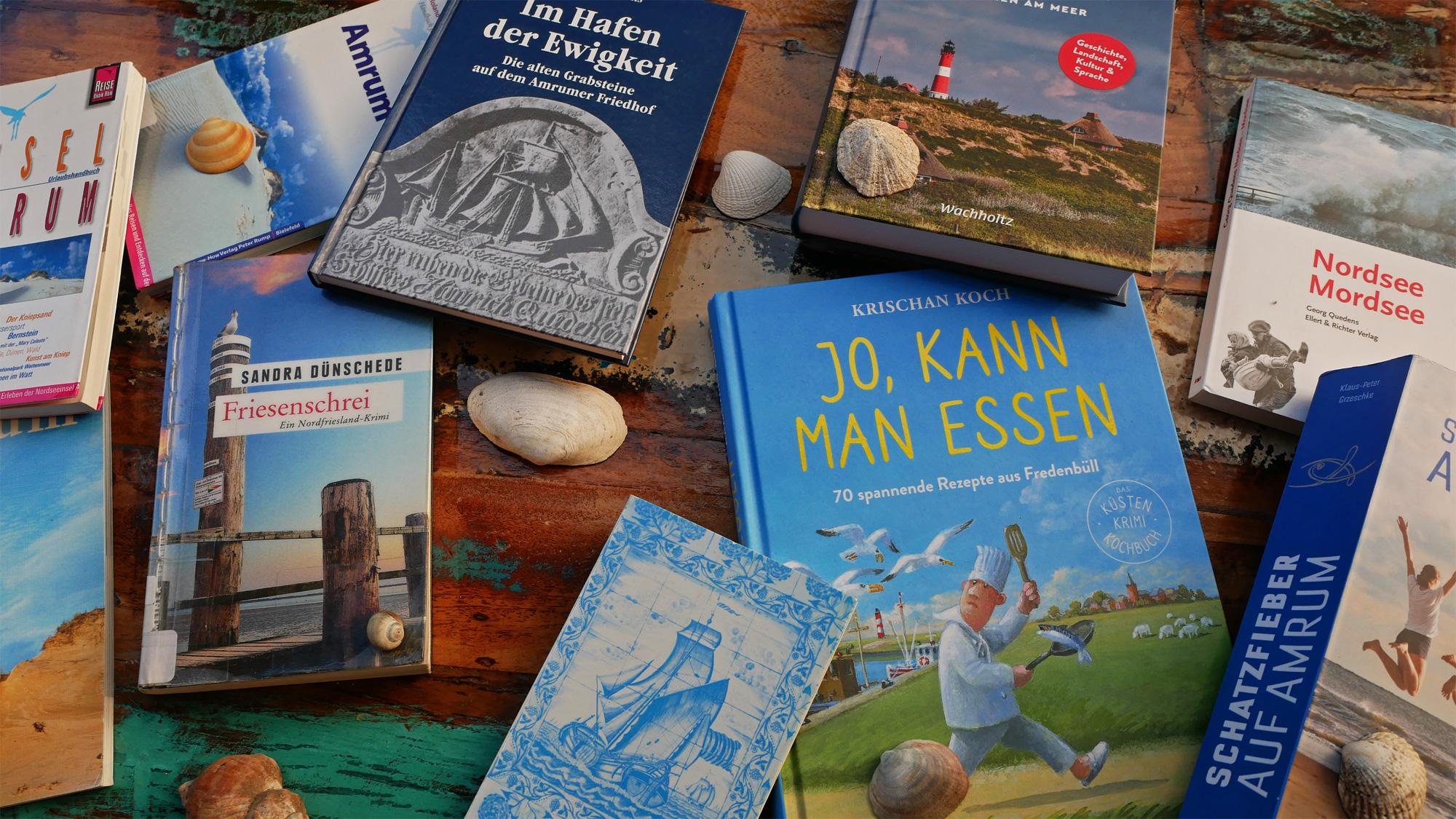 Bücher über Amrum – Lektüre für den Urlaub